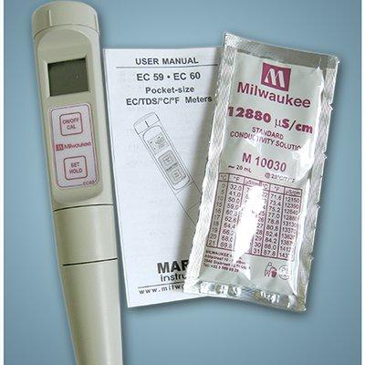 handheld ph and ec meter